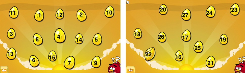 how to get all the golden eggs on angry birds